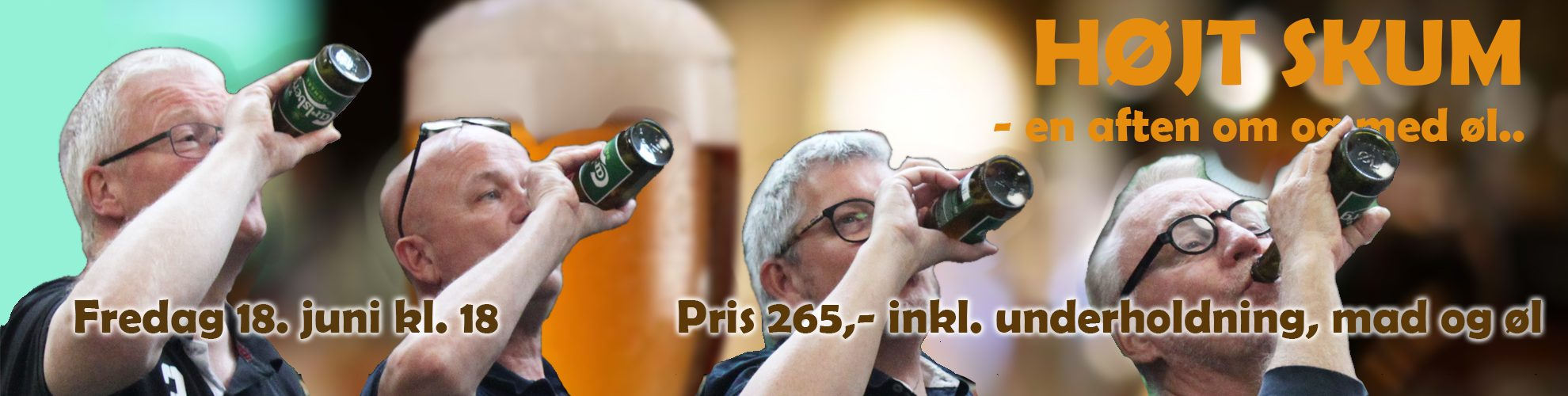 Reklame for ølaften